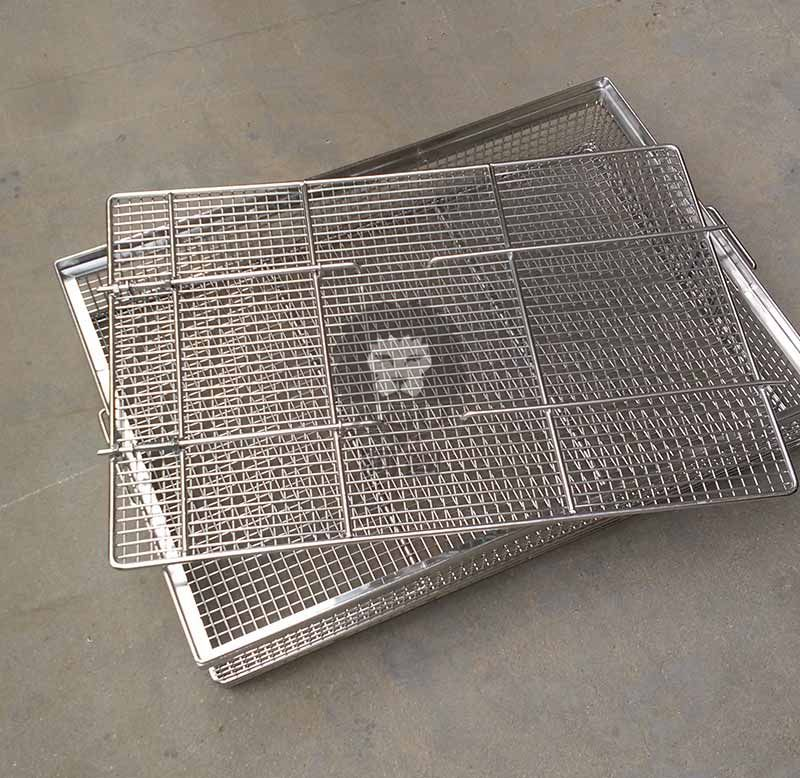 Part Cleaning Basket with lid