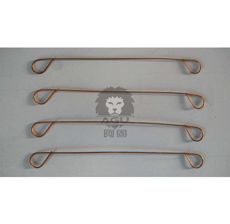 Welded Double Loop Copper Coated Wire Ties