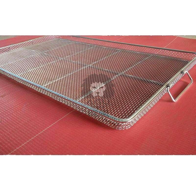 Woven Fabric Basket Tray
