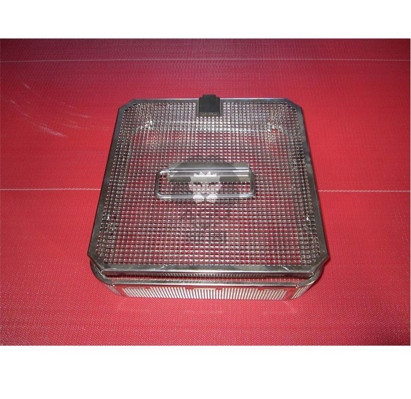 Square Hole Perforated Mesh Basket