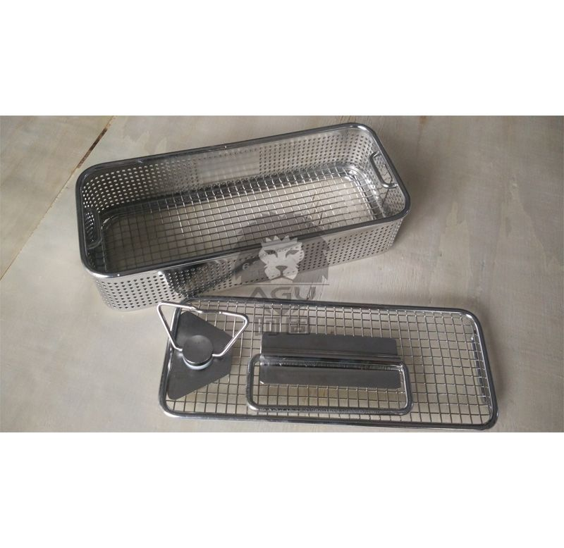 Instrument Sterilization Basket with perforated sides