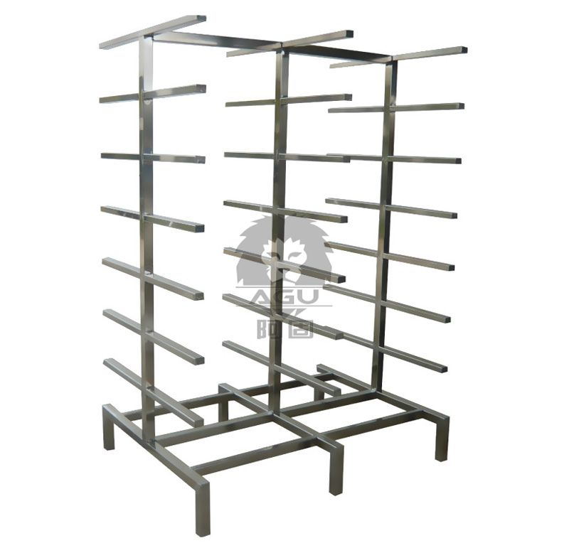 Stainless Steel Sterilizing Trolley