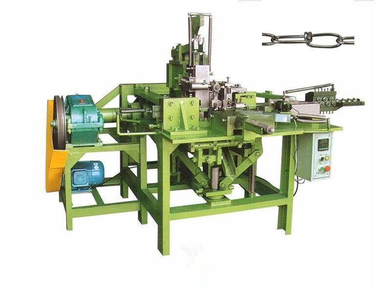 Double Loop Chains Making Machine