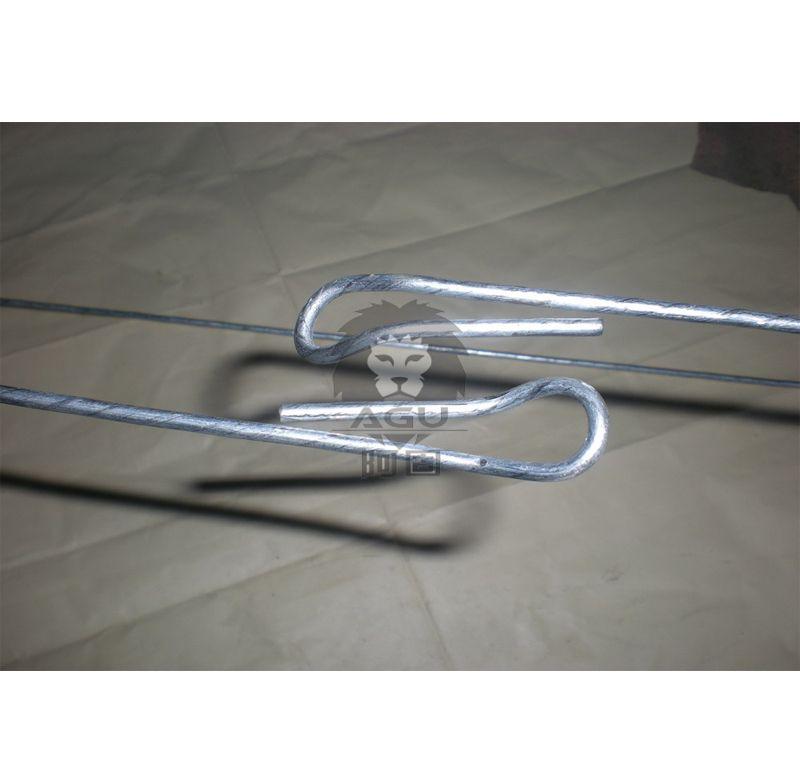 Electro Galvanized Quick Link Bale Ties